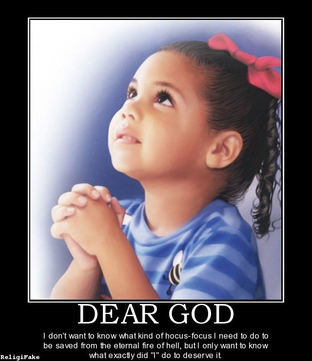 religion DEAR GOD - Teach our kids early..