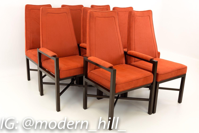 Edward Wormley For Dunbar Mid Century Modern Dining Chairs