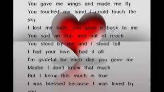 I Love You Mom Miss You Celine Dion Lyrics Celine Dion Because I Love You