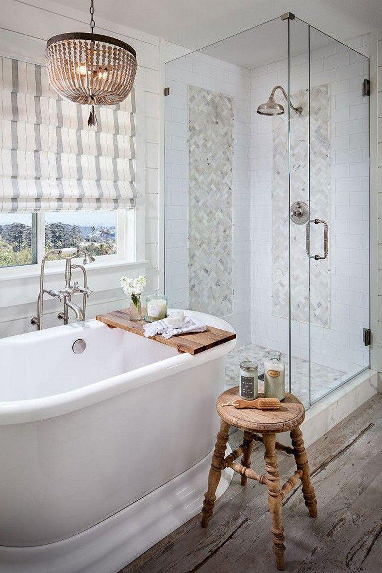 35 Luxury Farmhouse Bathroom Design And Decor Ideas You Will Go Crazy Bathroomideas Bathroomdesign