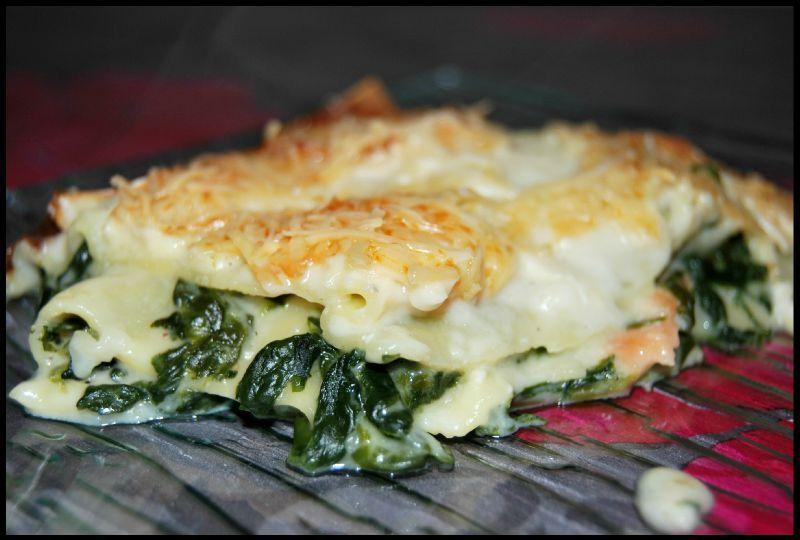 Lasagne Chevre Epinard Saumon Jafayssa Lasagnes Chevres Et