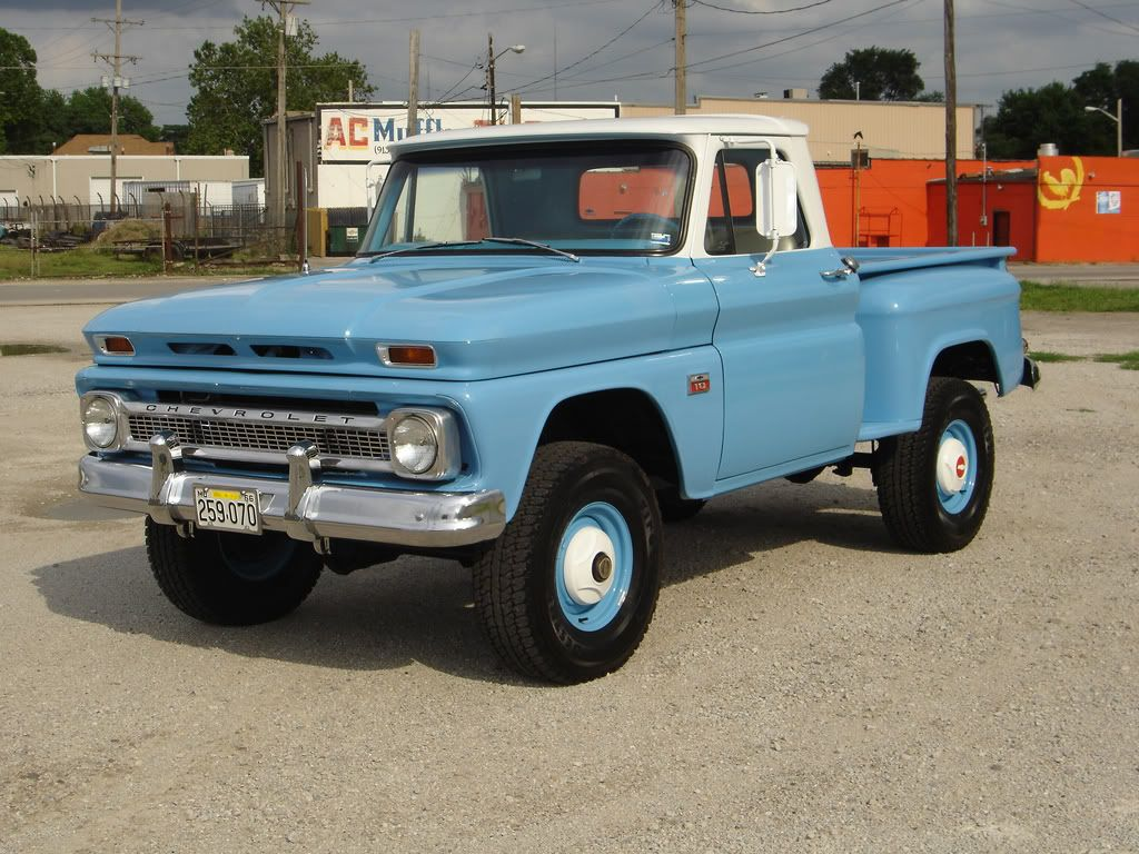 All Chevy 1963 chevy stepside for sale : 1966 Chevy step side - I guess I could live with this if I can't ...