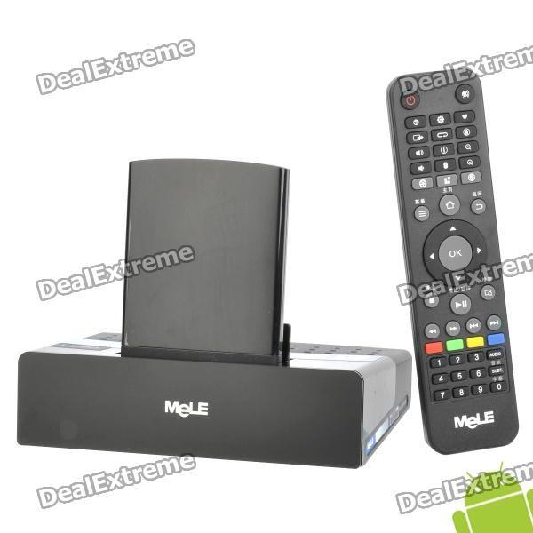 Mele A1000 1080P Android 2.3 Internet TV Set Top Box w/ WiFi / OPTICAL / 3 x USB / HDMI / LAN / SD