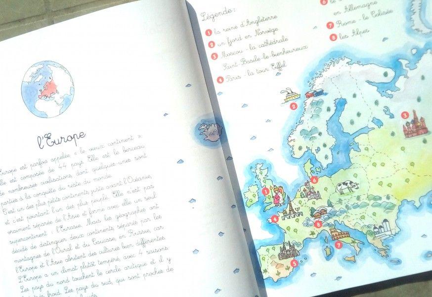 Mon Cahier Montessori De Geographie Geographie Mon Cahier Cahier