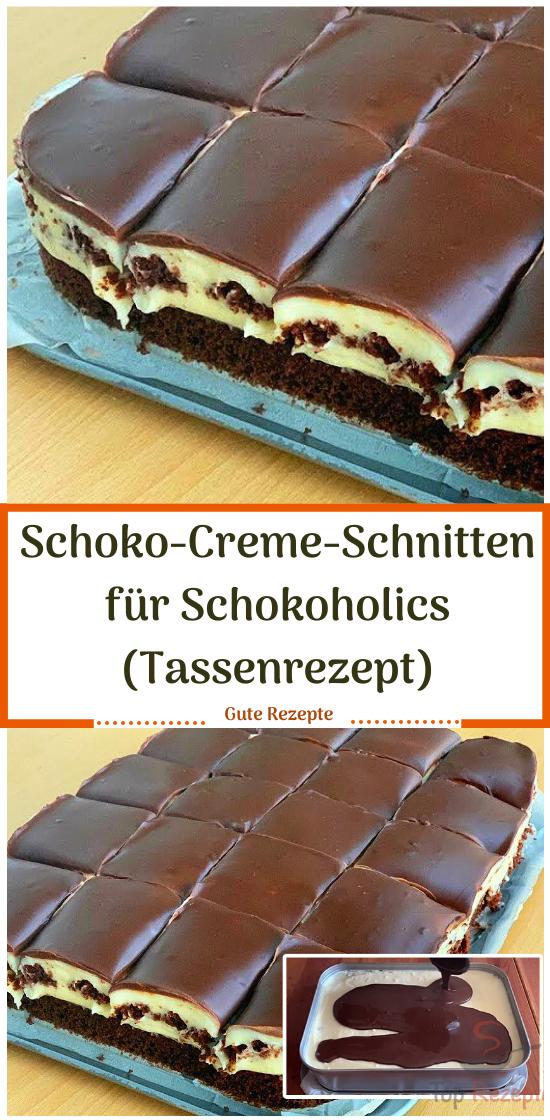 Schokoladencremewaffeln für Schokoladenalkohole (Tassenrezept)