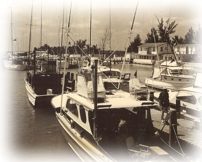 Hemingway Caribbean: Brown's Hotel & Marina, Owned By Capt. Harcourt Brown And