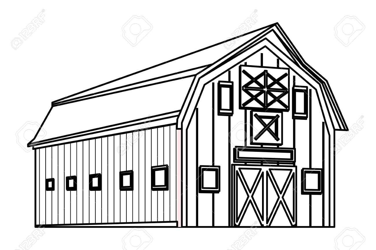 Barn Clipart Black And White In 2021 Clipart Black And White Clip Art Black And White
