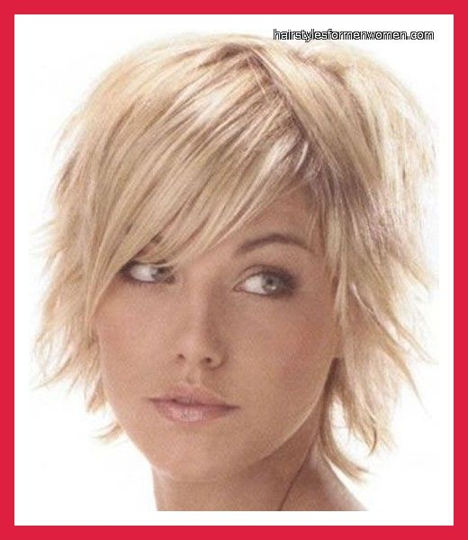 Short Choppy Hairstyles For Thin Hair Pictures Blog