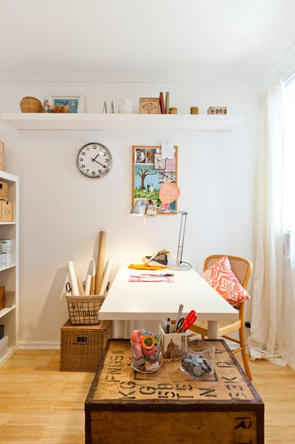 Eclectic home office Modern Eclectic Home Office By House Nerd Always Express Your Heartfelt Thanks For The Sentiment Behind Gift But Dont Beat Yourself Up About Giving It Away Pinterest Eclectic Home Office By House Nerd Always Express Your Heartfelt
