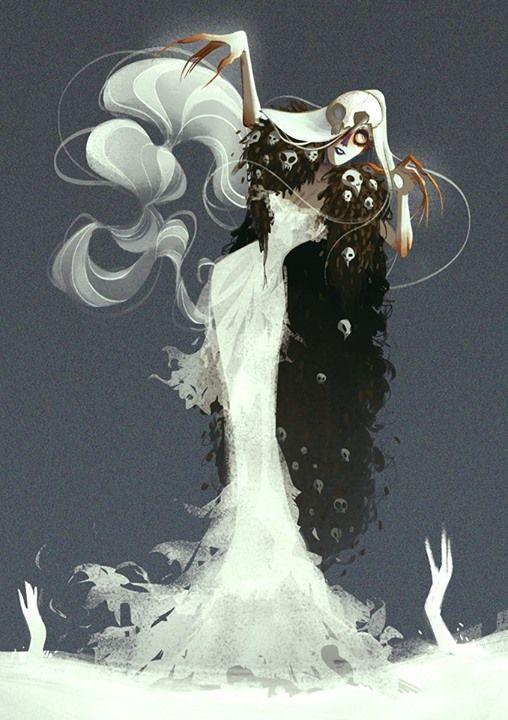 Irina the Necromancer aka. the Puppet Master by Julia Lullaby