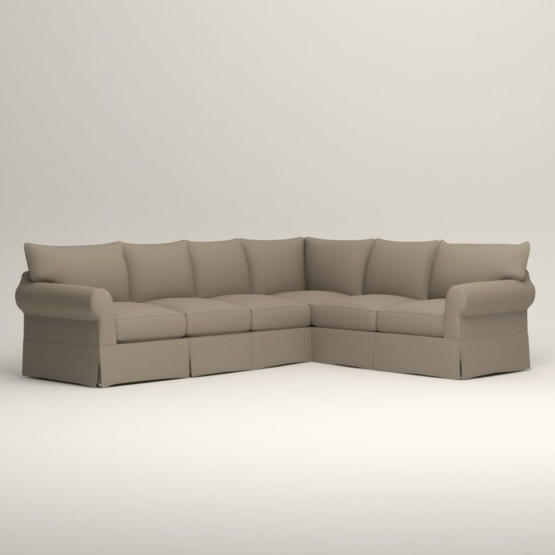 Jameson Slipcovered L Shaped Sectional Slipcovers L Shape Reclining Sectional