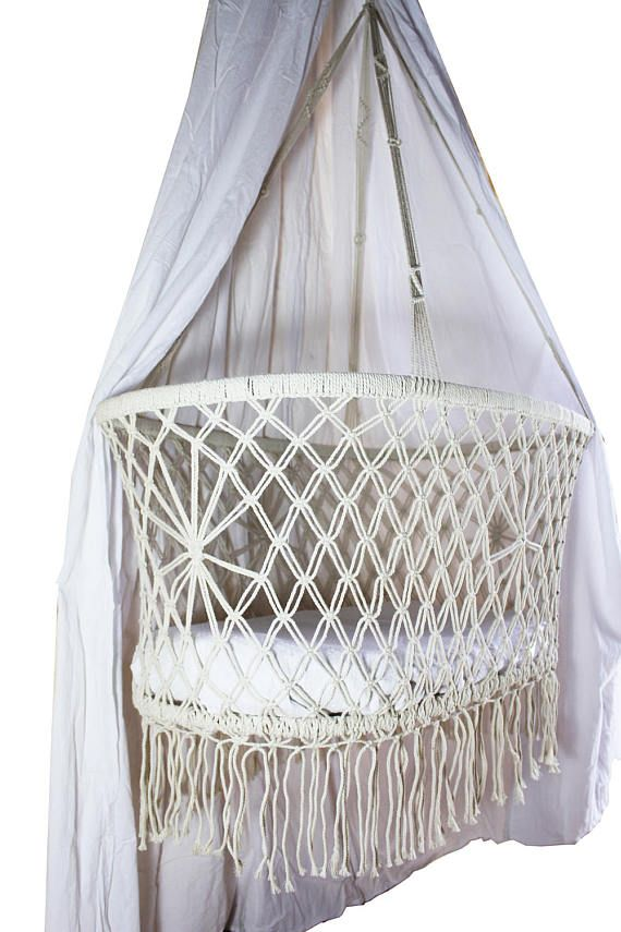 our macrame bassi  cradle is the perfect little nest for your newborn to snooze in  baby hammockmacramehanging     our macrame bassi  cradle is the perfect little nest for your      rh   pinterest