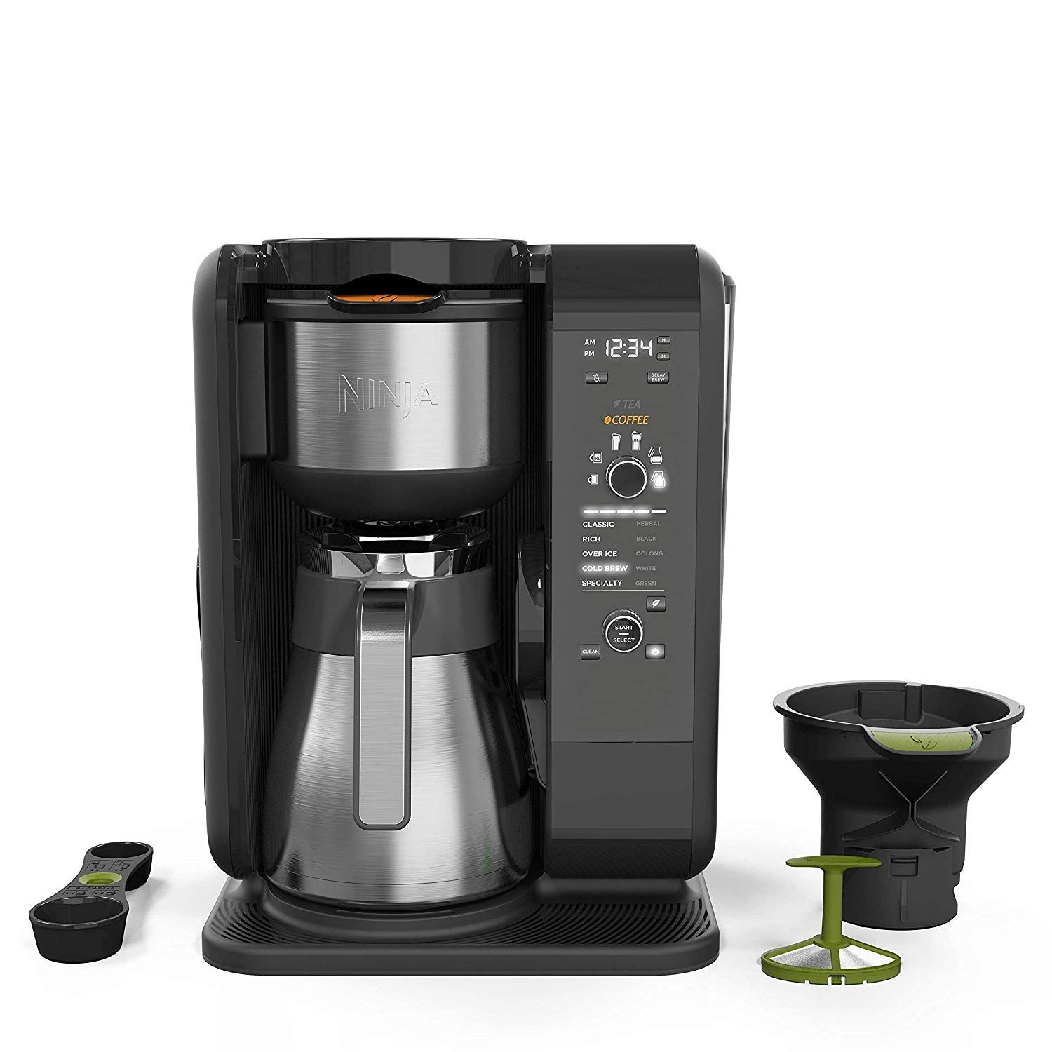 Coffee and Tea Brew Settings Brewing technology offers an