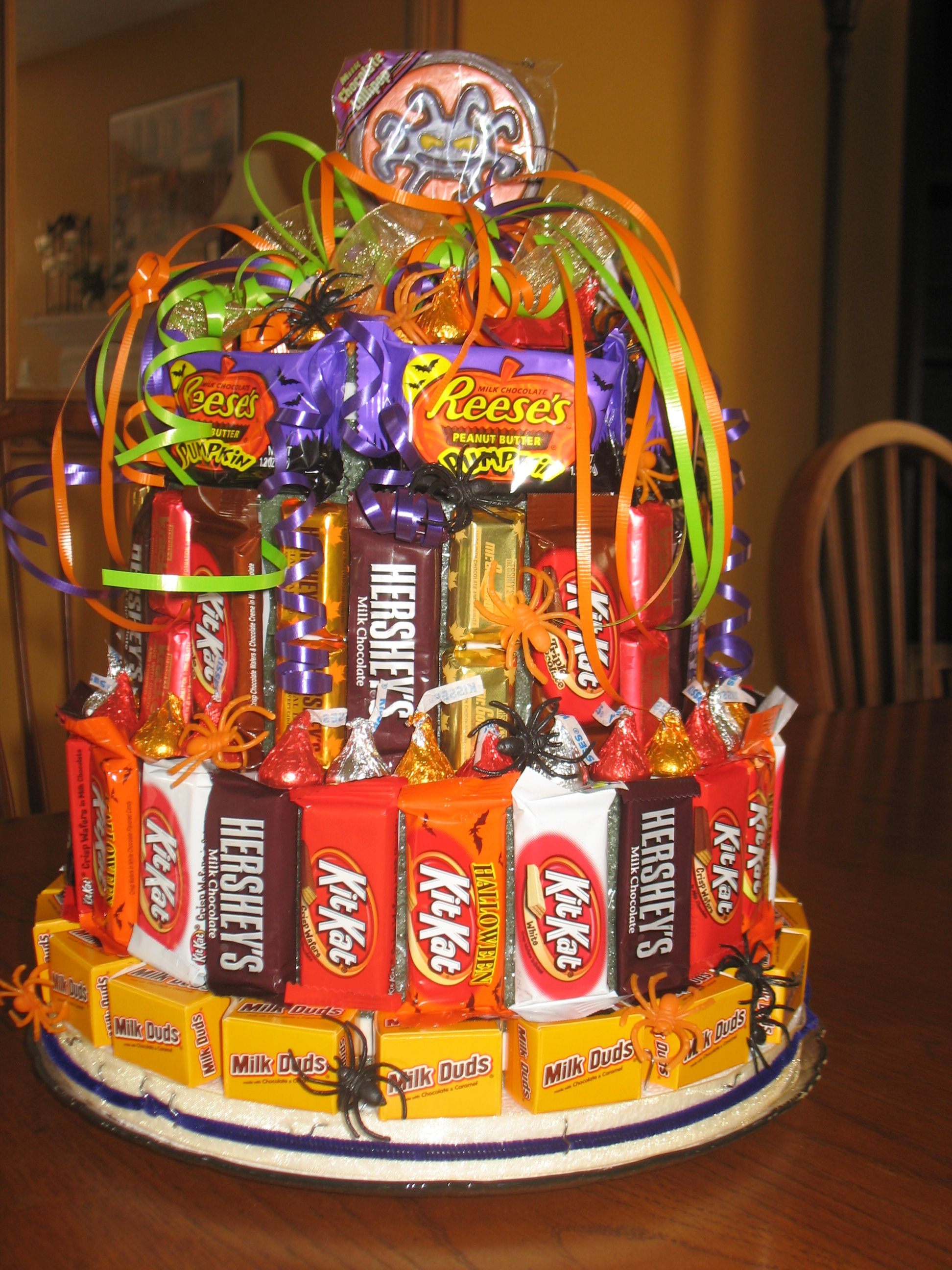 Tiered Sweets For School Auction
