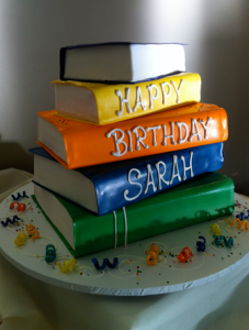 Great Birthday Cake Idea For A Book Lover My Nephew Loves To Read And This Gives Me On How Make Him One Of Kind Awesome