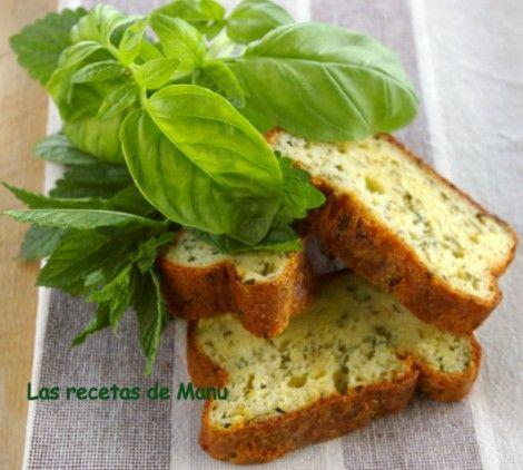 .Cake de calabacín y albahaca