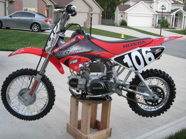 Pit Bike 04 Crf70 W 114cc 4 Speed Manual Pit Bike Bike Honda