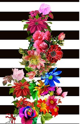Digital Flower Design | Free Textile Digital Design Stocks | Textile