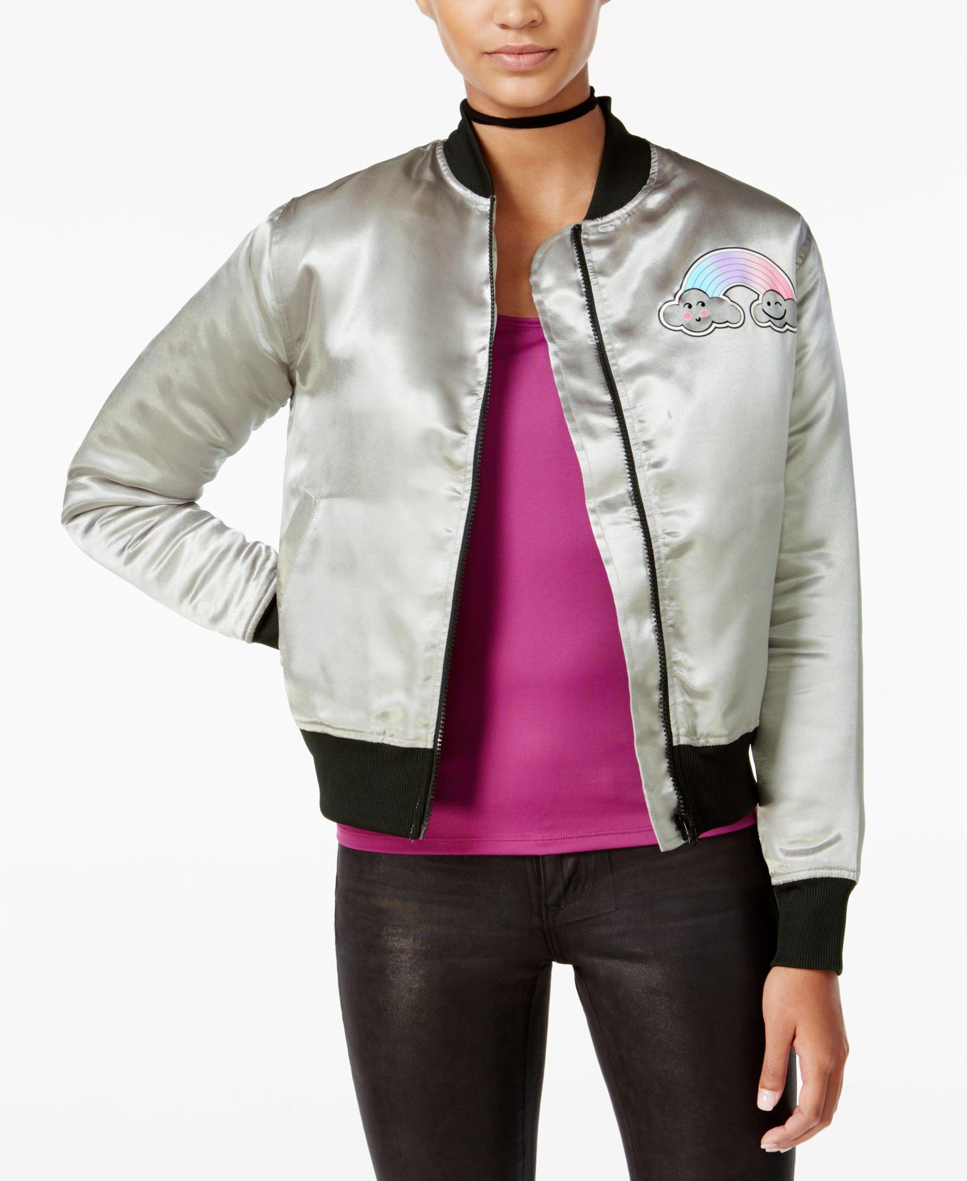 Dreamworks Trolls Juniors Twins Graphic Bomber Jacket Bomber Jacket Jackets Vest Jacket [ 2378 x 1947 Pixel ]