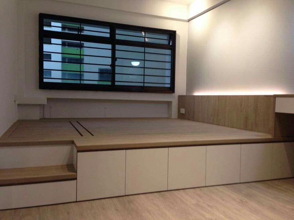 Platform Bed By Dr Doors Nebolshie Prostranstva Interery