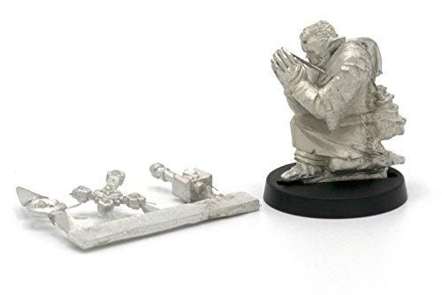 Stonehaven Half-Orc Barbarian Miniature Figure for 28mm Scale Table Top War Games Made in USA Stonehaven Miniatures