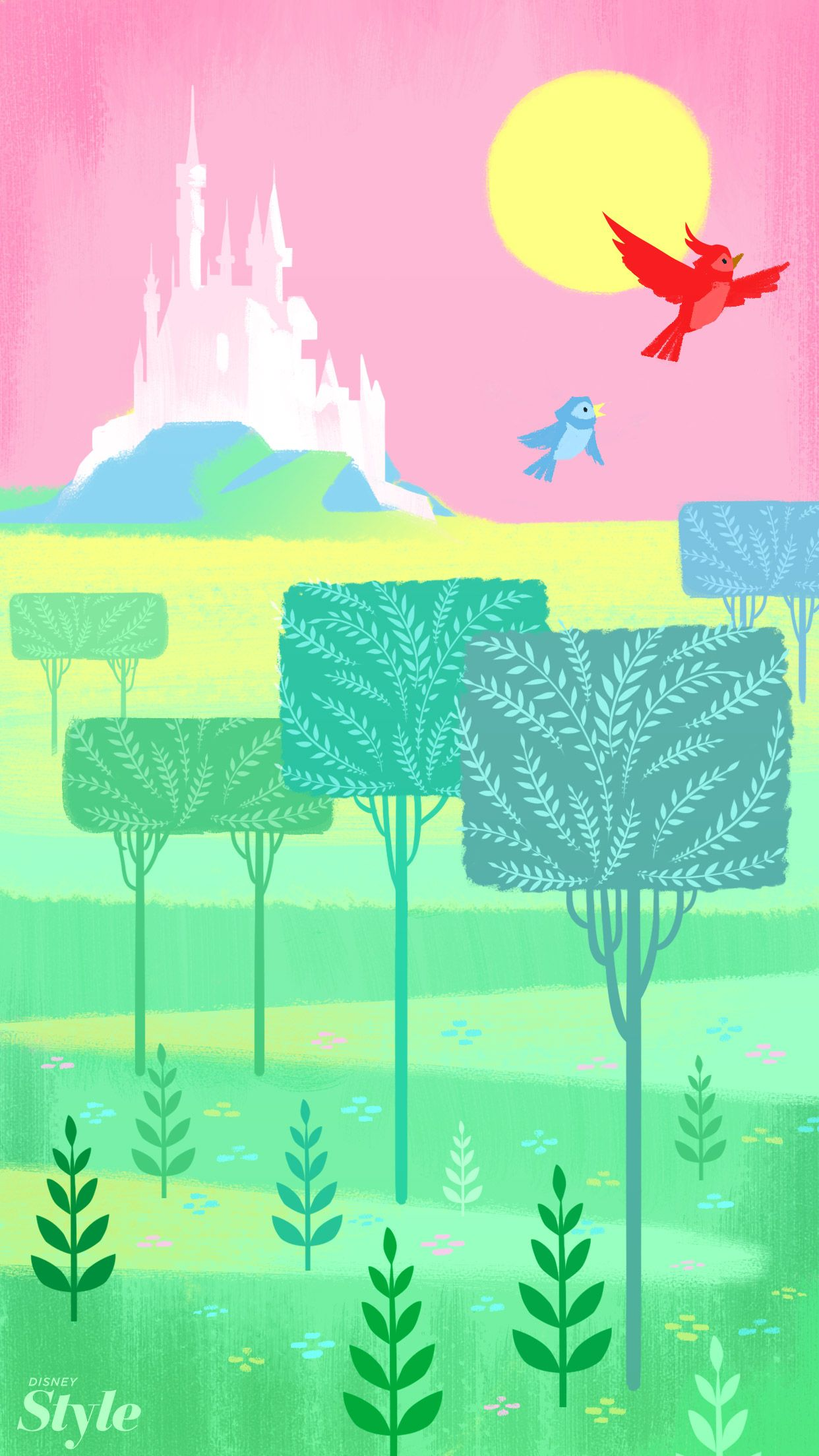 Spring Disney Backgrounds To Brighten Up Your Phone Disney