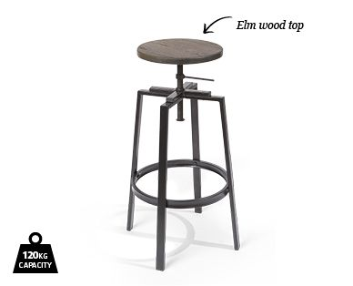 industrial bar stool aldi australia only on sale 24th feb