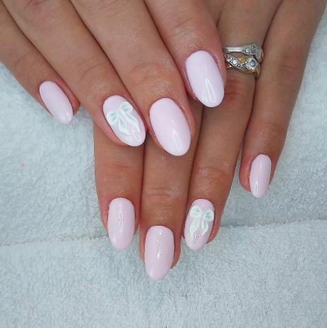 Slubne Paznokcie Manicure Slubny 2018 Inspiracje Modowe Blog Modowy Modoweinspiracje Pl Manicure Nails Beauty