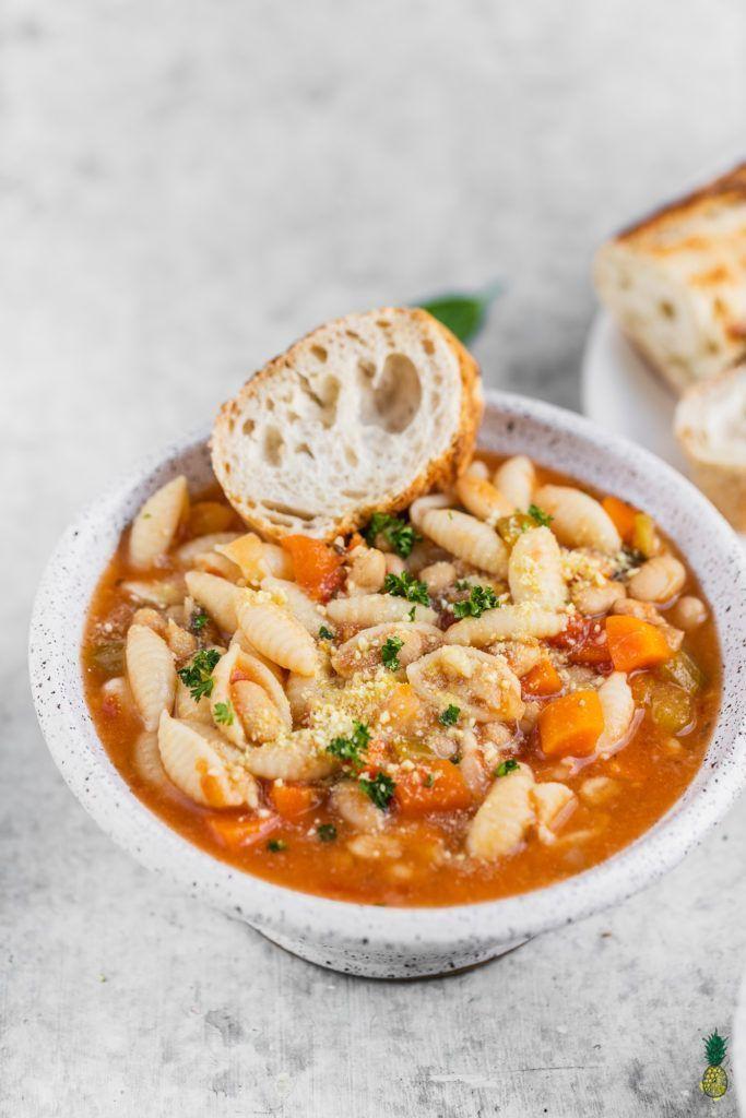 Instant Pot Pasta Fagioli Aka Pasta And Beans