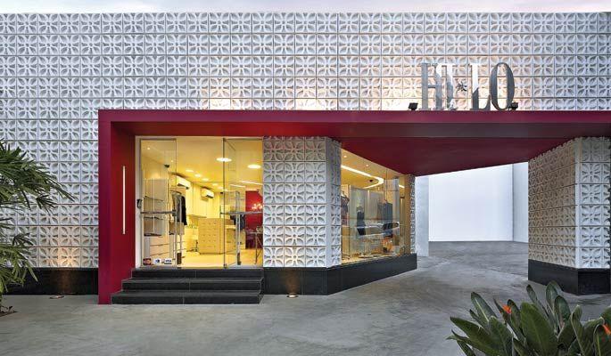 David guerra arquitetura e interiores loja belo horizonte for Fachadas de casas modernas em belo horizonte