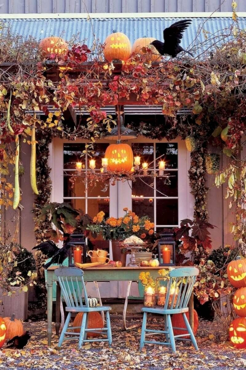 Get Some Outdoor Halloween Decorations Ideas #falldecorideasfortheporchoutdoorspaces Get Some Outdoor Halloween Decorations Ideas to make your outdoor space look scary. So hurry up and get your ideas to make your home Halloween ready. #halloweendecor #halloween #halloweendecorations #spooky #pumpkin #homedecor #trickortreat #happyhalloween #halloweenparty #autumn #handmade #spookyseason #halloweenart #pumpkins #halloweenideas #halloweendecorating #halloweentime #decor #horror #witch #diy #fallde #falldecorideasfortheporchoutdoorspaces