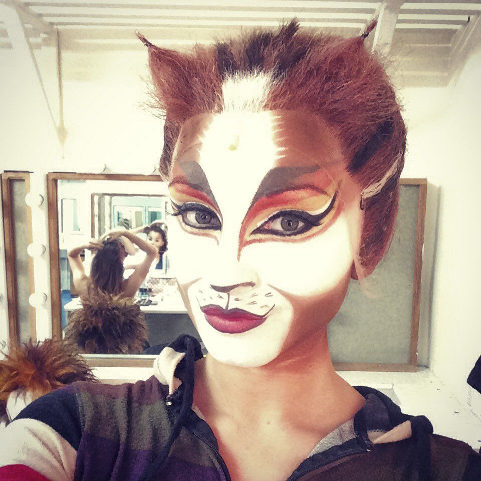 Danielle Cato on Cats musical, Jellicle cats, Kitty face
