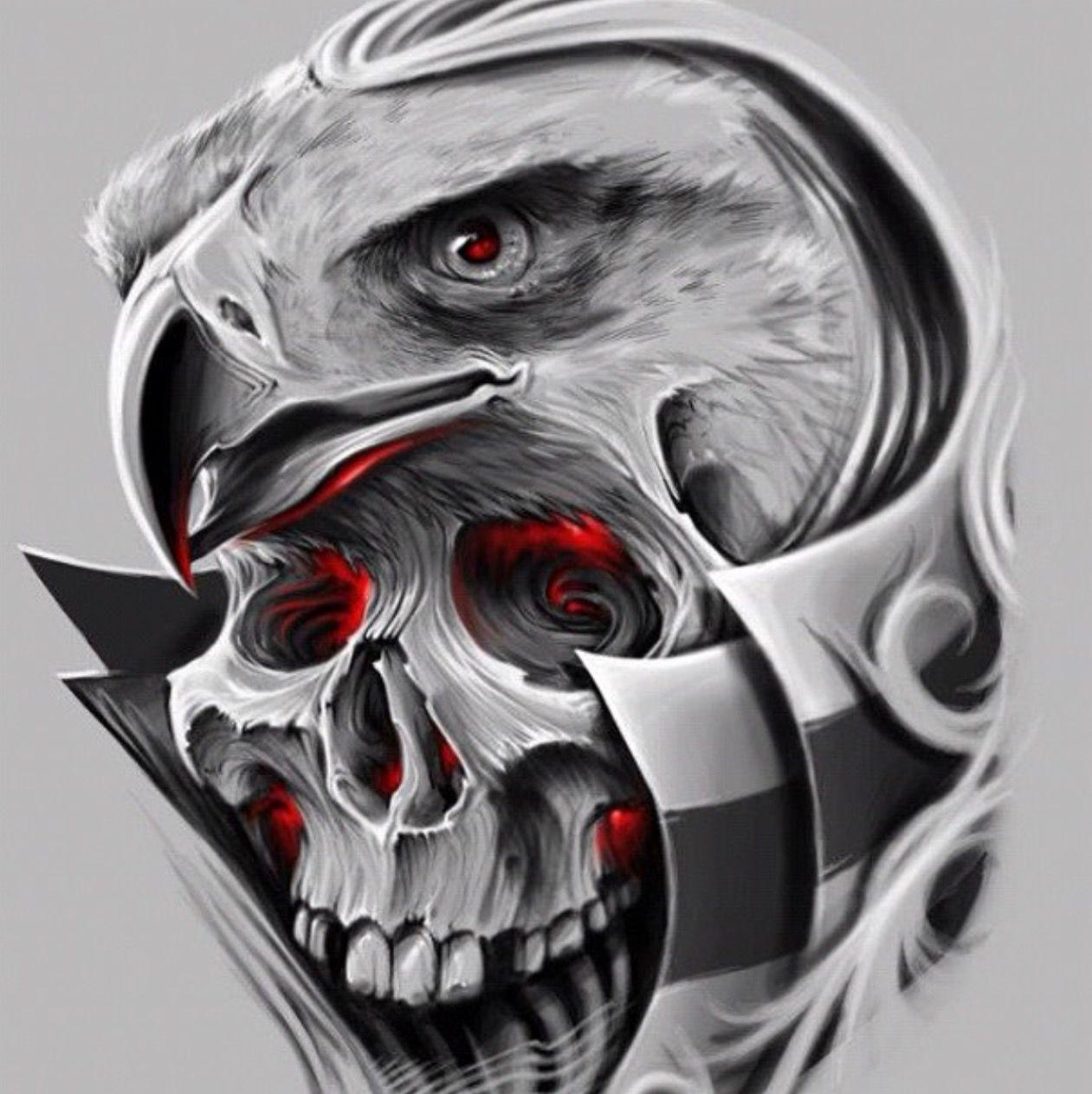 Pin By Zero One On David Garcia Skull Art Skull Design Skull Tattoos