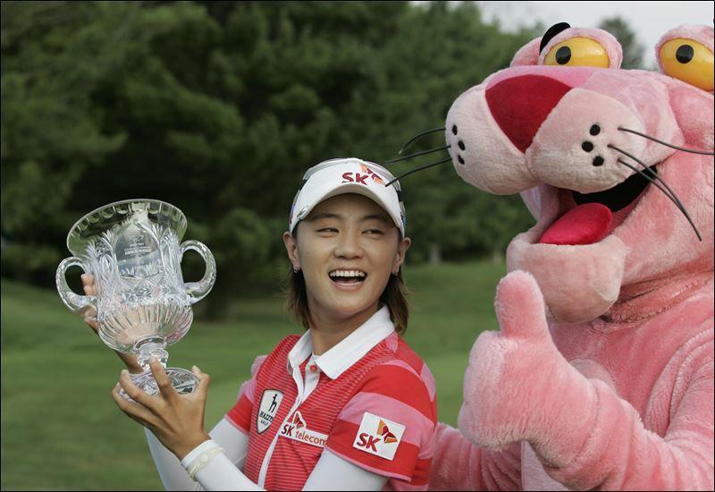 Choi appreciates 5time champ Pak paving way for Koreans