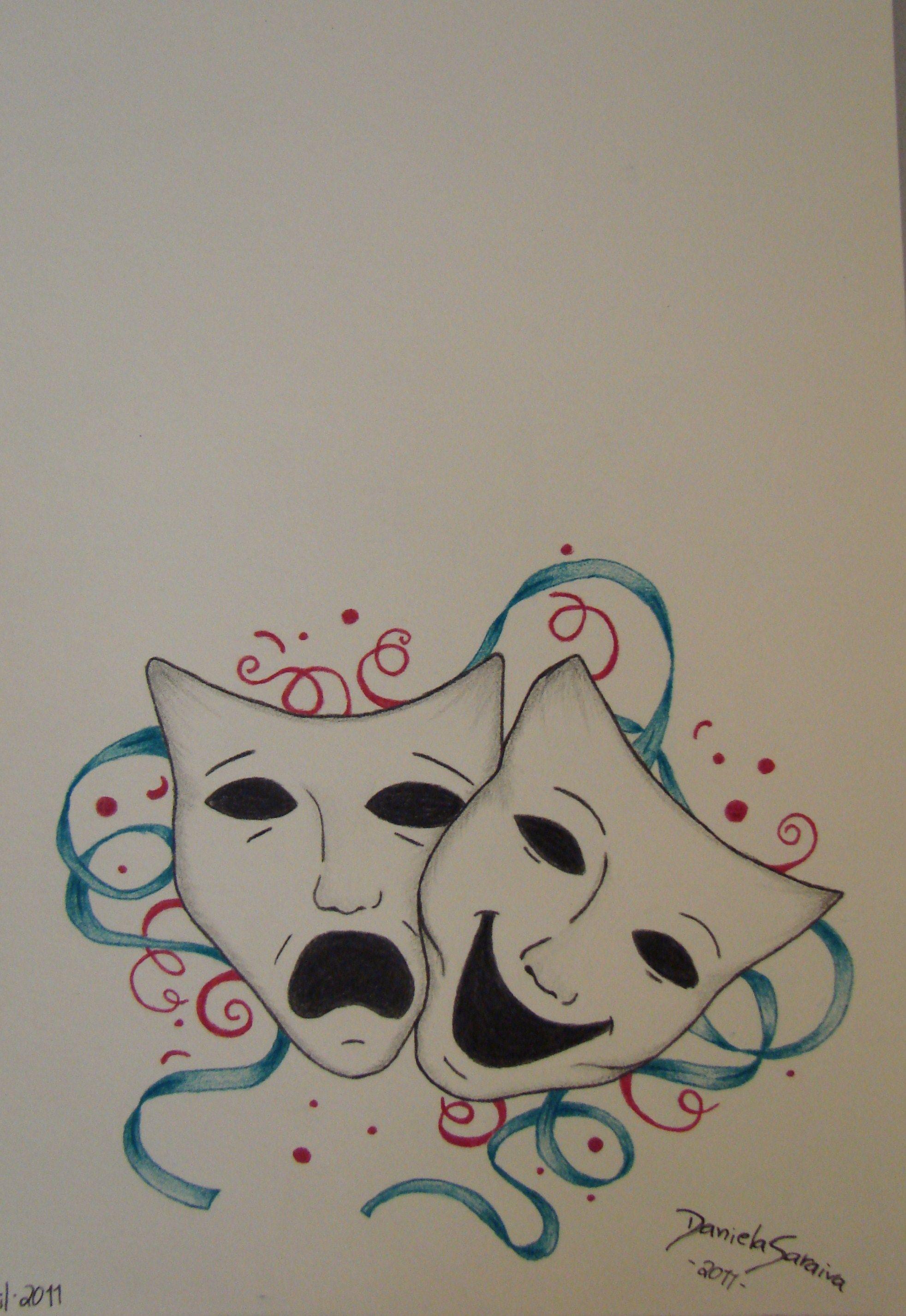 20++ Tatouage masque triste heureux ideas in 2021