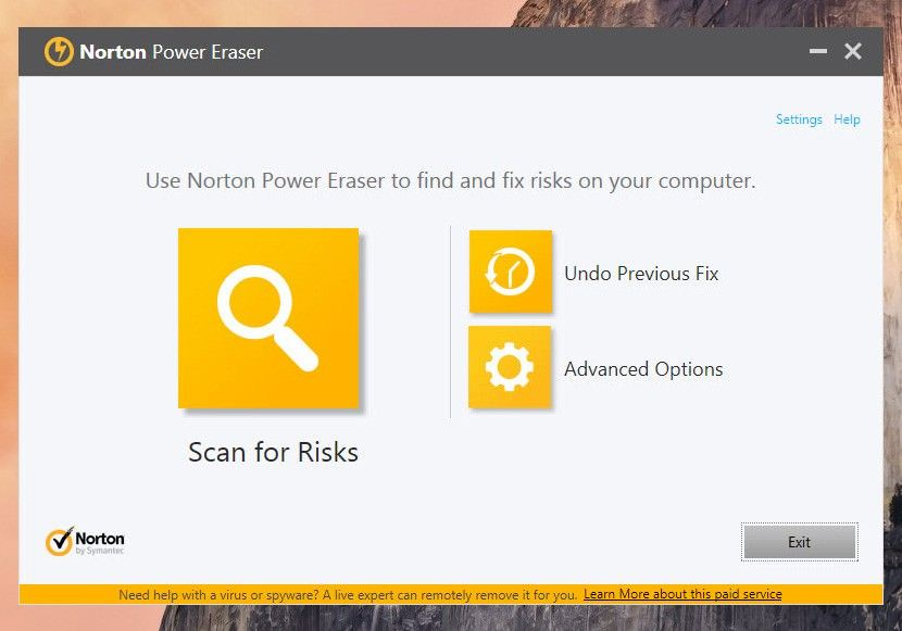 Norton Security Scan and Clean full version
