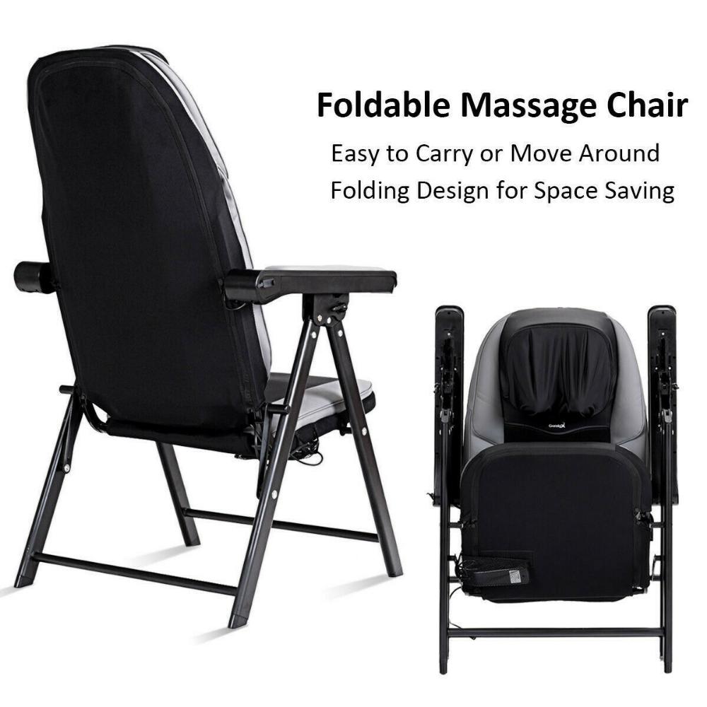 Portable Adjustable Folding Shiatsu Massage Chair With Usb Charging Port 6952938344180 Ebay Shiatsu Massage Chair Shiatsu Massage Neck Massage
