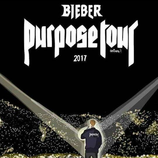 18, 19 y 21 de Febrero 2017 PURPOSE TOUR MÉXICO.