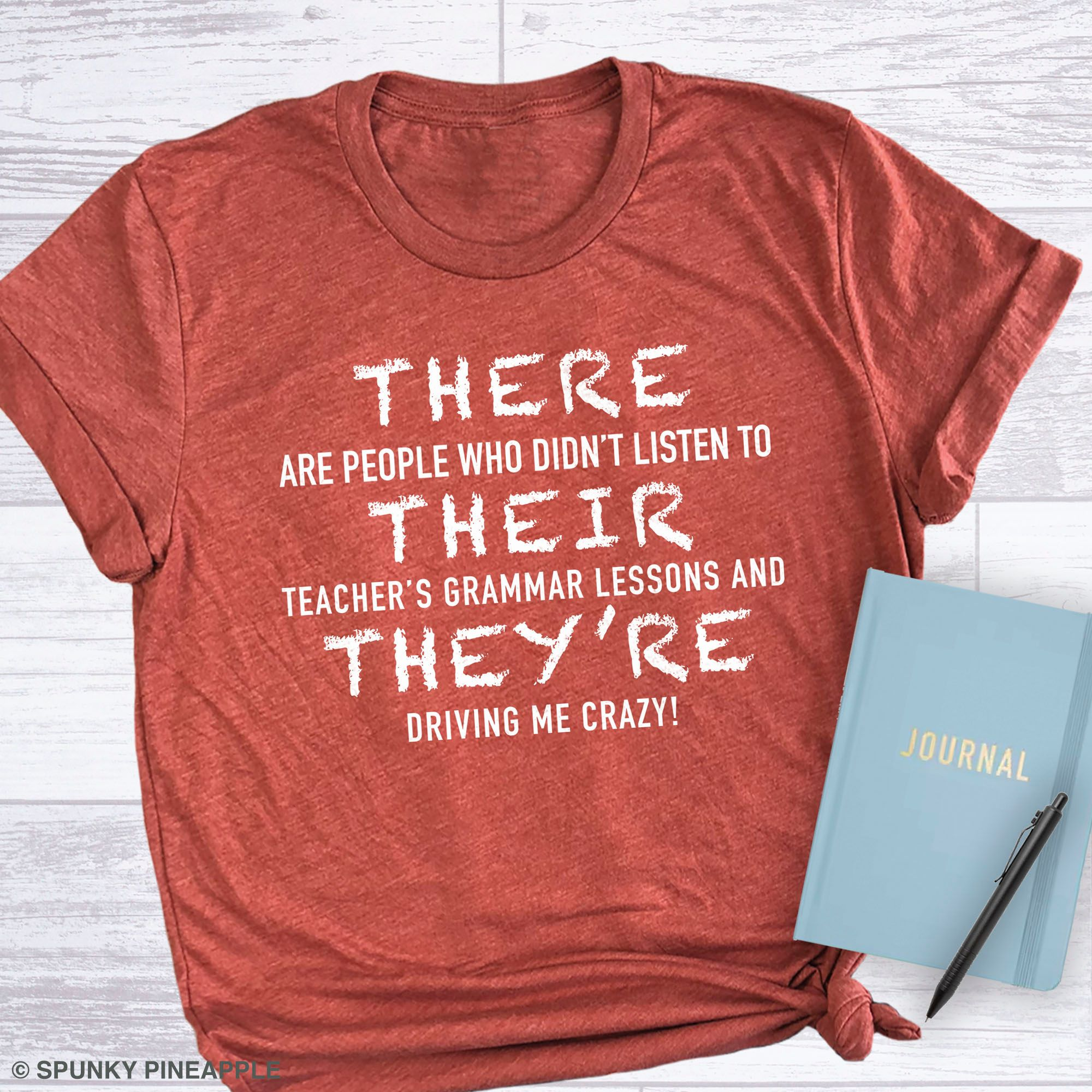 There Their They Re T Shirt Funny Grammar T Shirt