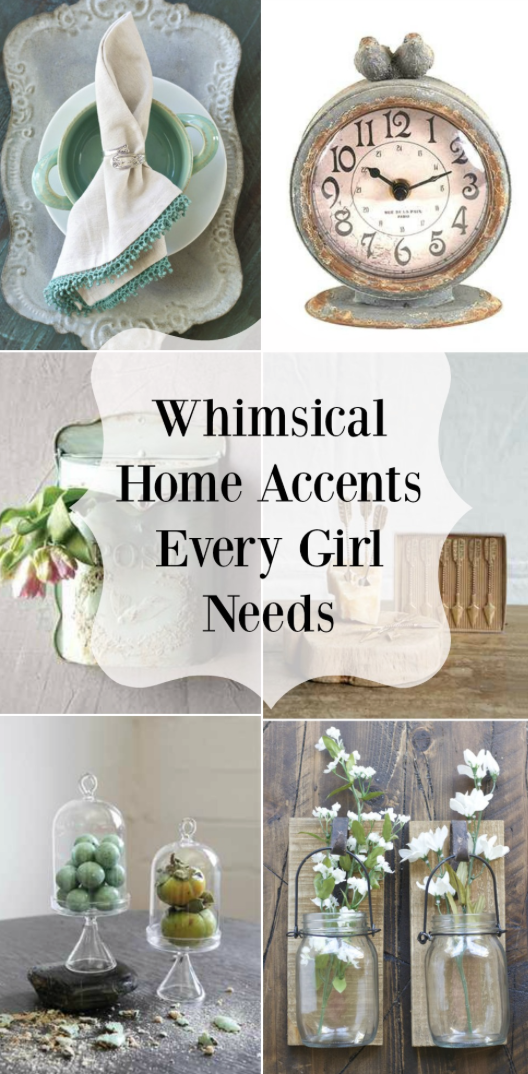 Whimsical home accents every girl needs to