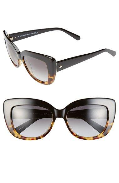 a61dda595dedf Women s kate spade new york 55mm cat eye sunglasses   Style I Love ...