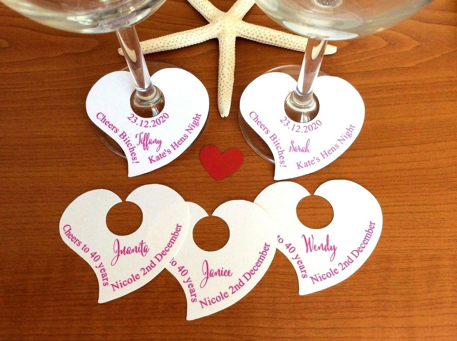 Wine Glass Name Tag In 2020 Wine Glass Tags Personalized Wine Glass Wine Charms