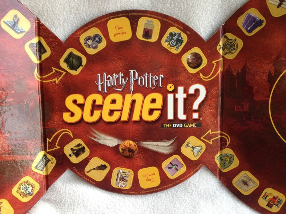 Scene It Harry Potter 1st Edition Replacement Game Board