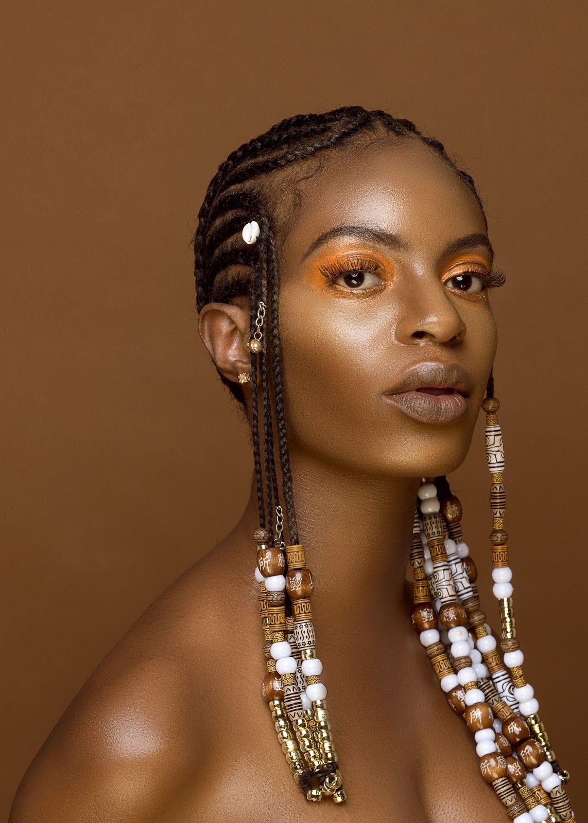 10 Inspirational Photos Of Braids With Beads And Cowrie