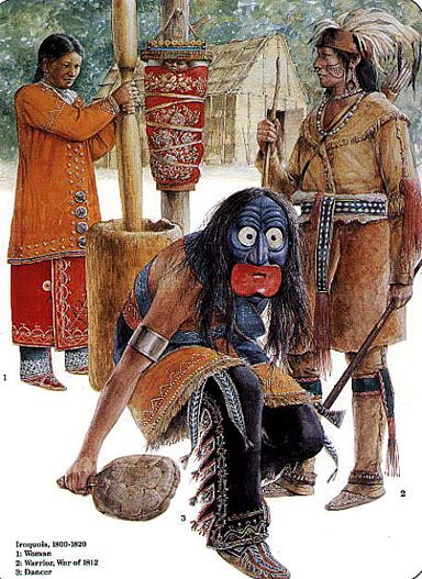 Traditional Mohawk Nation Daily and Ceremonial Clothing ...