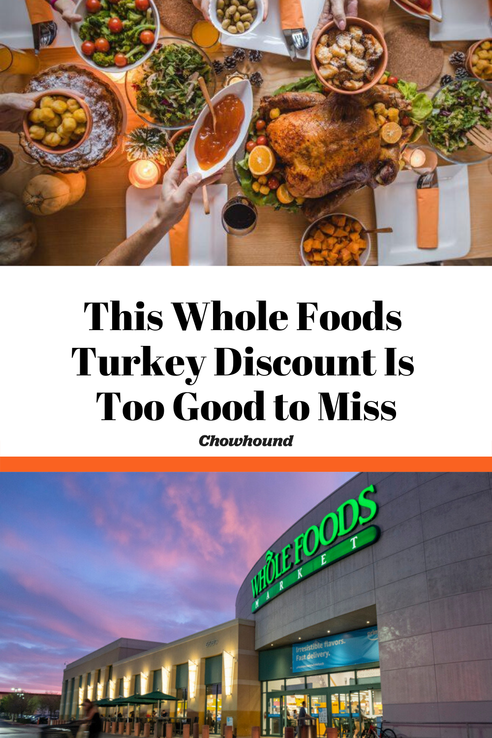 A Whole Foods Turkey Discount Too Good to Miss Whole