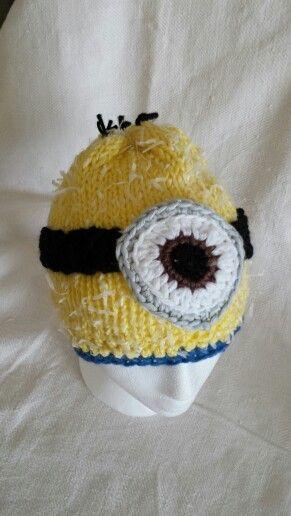 Hat minions crochet by luneba