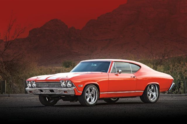 Arizona Cardinals Wide Receiver Larry Fitzgerald's 1968 Chevrolet Chevelle