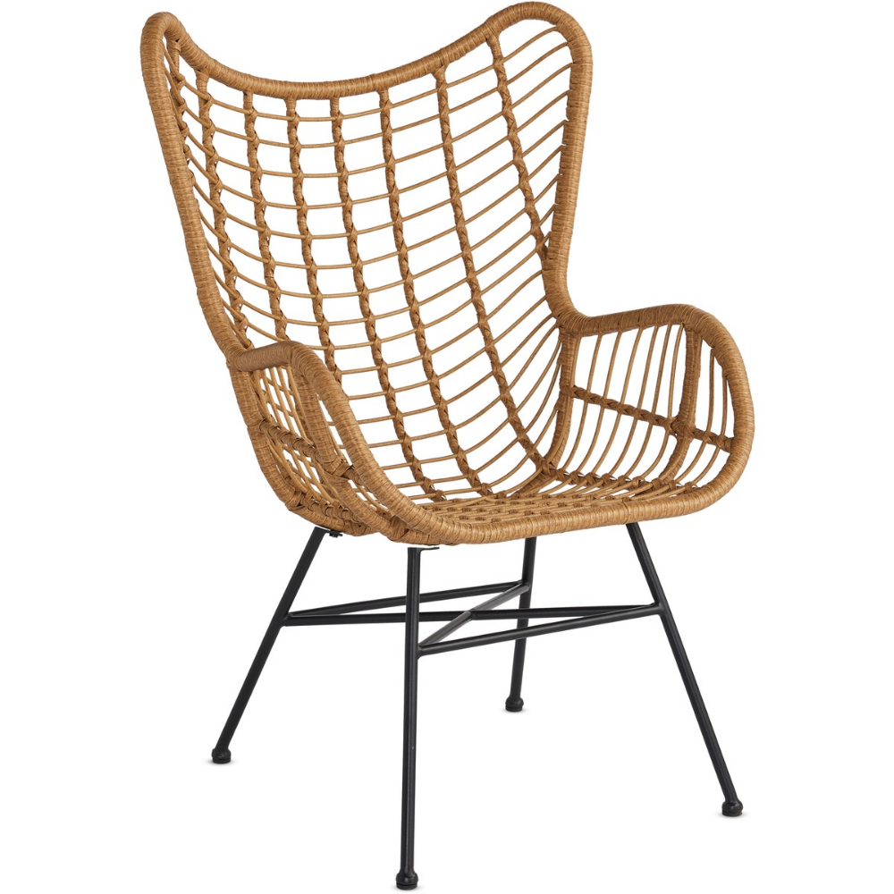 House & Home Rattan Statement Chair - Natural | BIG W ...