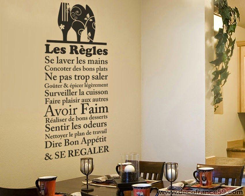 Sticker Cuisine : Les Regles De La Cuisine | Travail | Pinterest